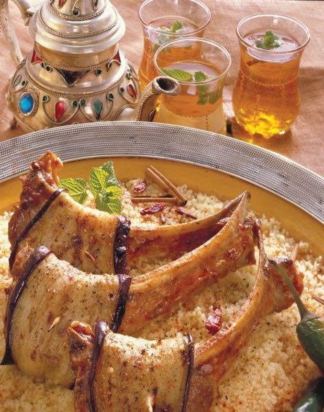Agneau l 39 oriental la bonne cuisine for La bonne cuisine