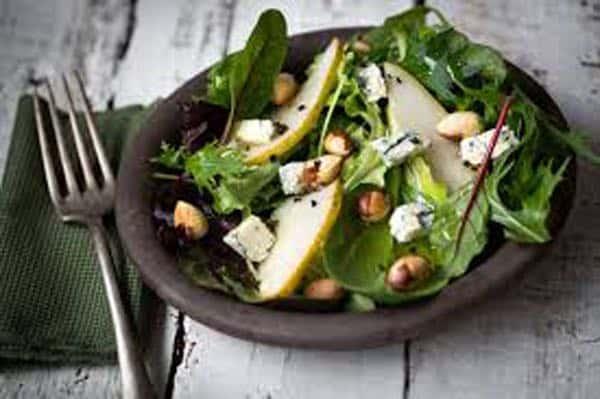 salade au bleu d'auvergne