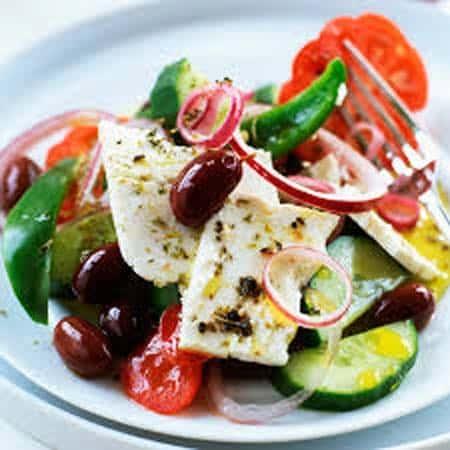 Salade grecque la bonne cuisine for La bonne cuisine