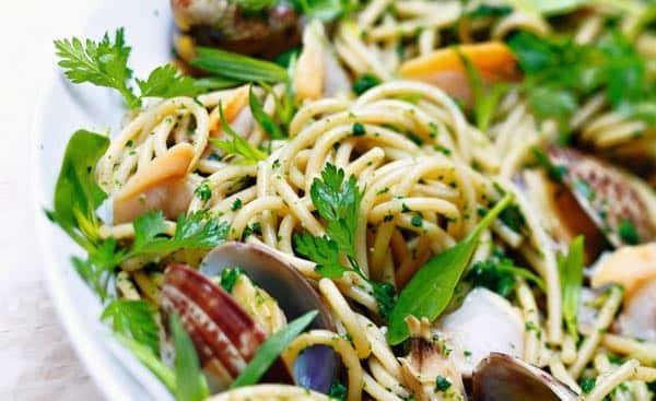 spaghetti aux clams