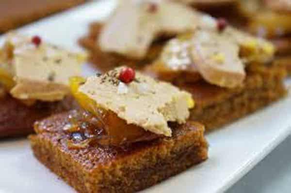 pain d'épices au foie gras