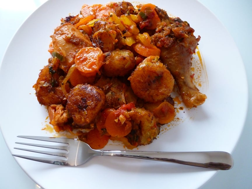 Poulet dg d lice du cameroun la bonne cuisine for La bonne cuisine