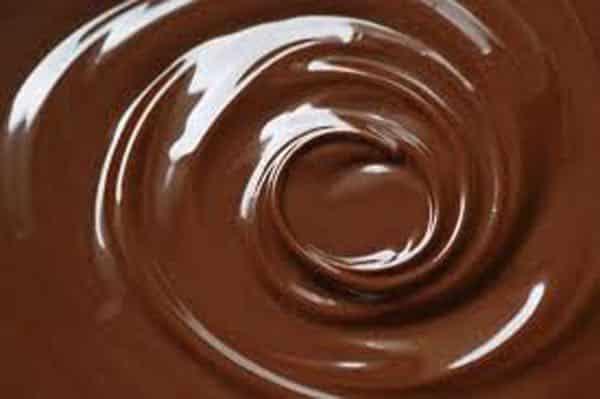 sauce au chocolat amer