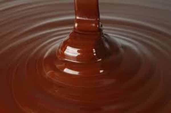 Sauche au chocolait au lait