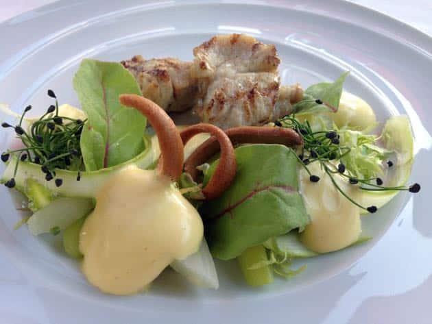 salade d'asperges