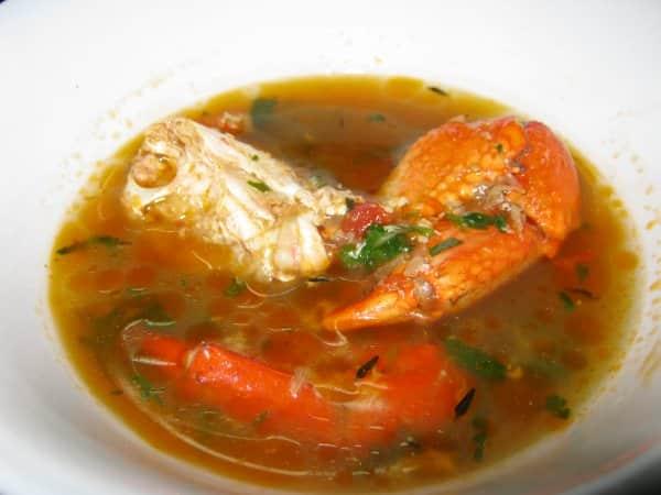 Soupe de crabes