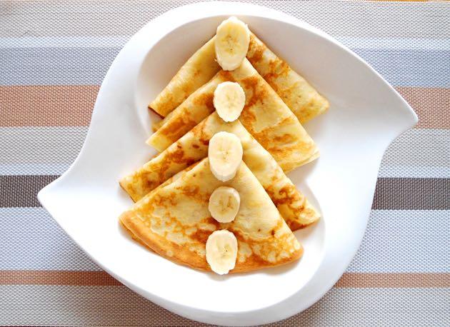 crêpes de banane plantain