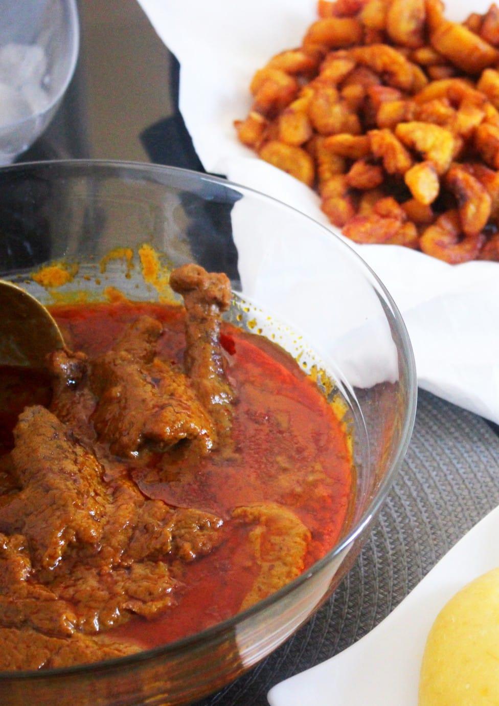 Sauce aux graines de palme meilleure recette africaine for La bonne cuisine