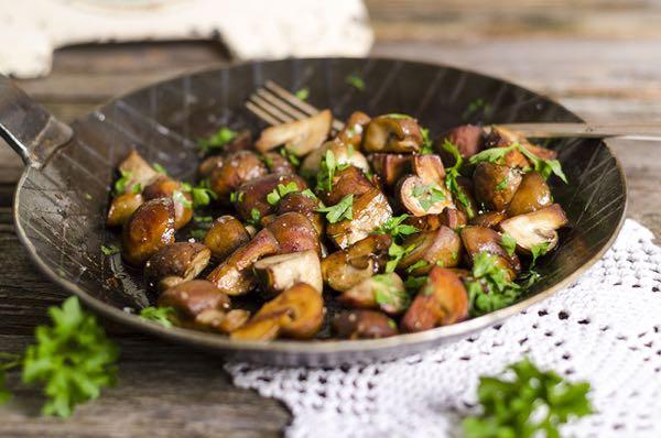 La saison et les recettes aux champignons