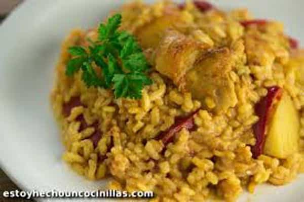 morue au riz