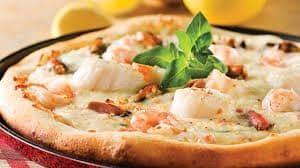 pizza aux fruits de mer recette