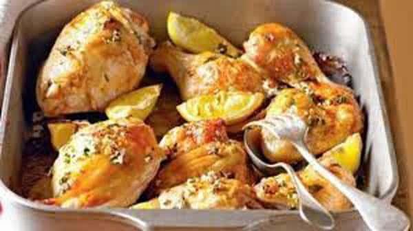 Poulet au citron: délice des iles