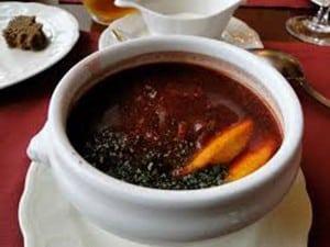 soupe des bucherons