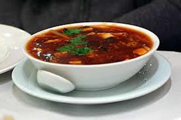 Soupe pékinoise (soupe aigre-piquante)