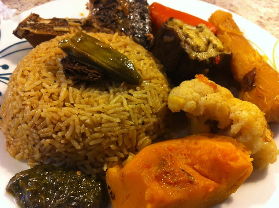 Thiebou djeune ( riz ou poisson)
