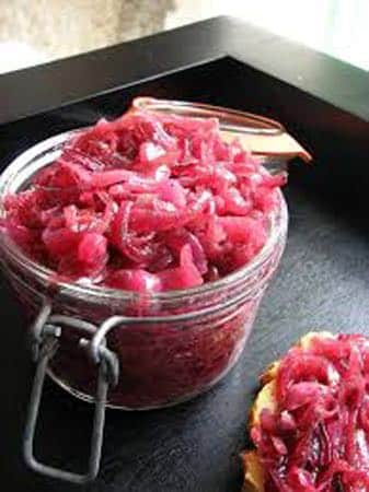 Confiture d'oignons rouges facile