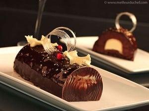 buche de Noel au chocolat
