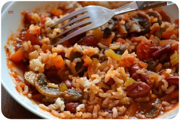 Waatchi ( riz aux haricots)