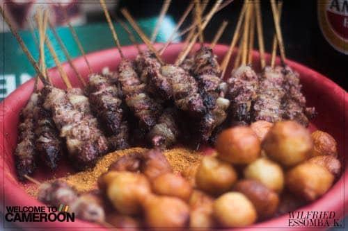 Soya… fameuses brochettes du Cameroun à partager !