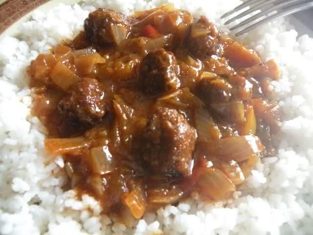 Thiou : ragout de viande senegalais