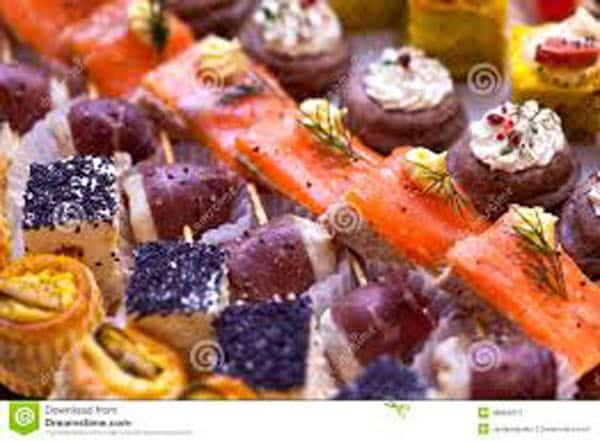 toasts et canapes