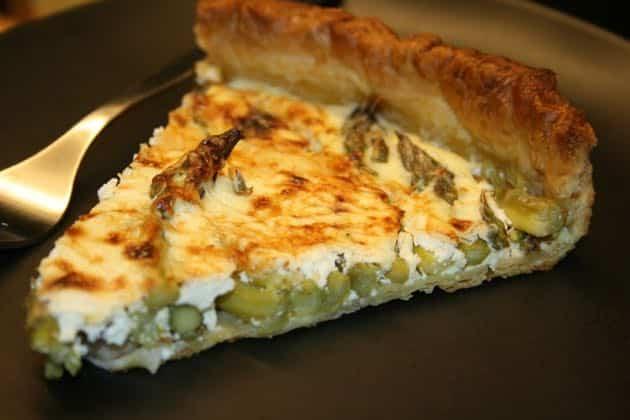 tarte aux asperges