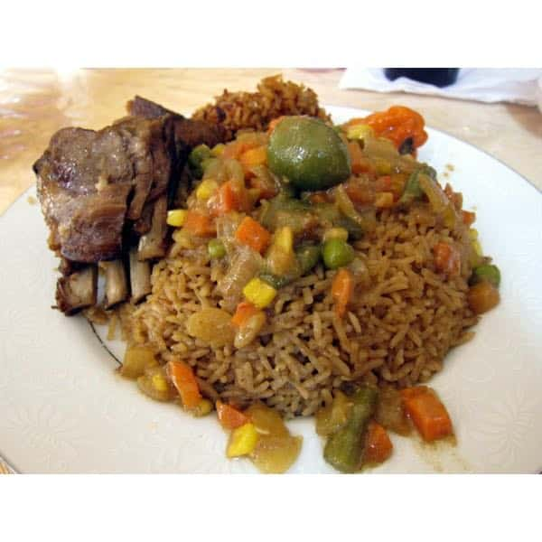 Thiebou yapp : Le riz à la viande sénégalais