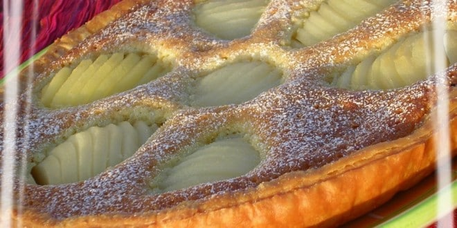 tarte aux poires