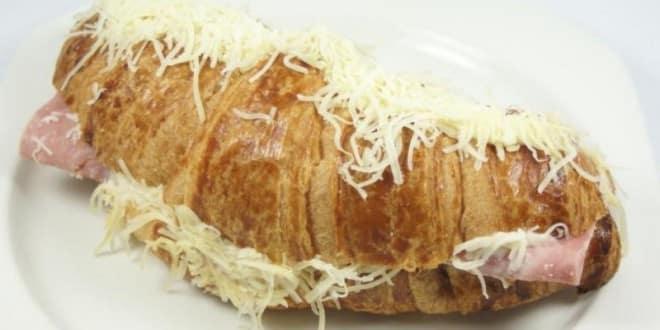 croissant jambon au fromage