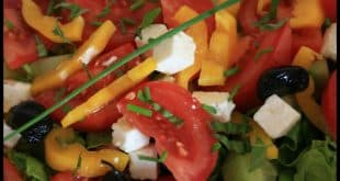 Salade ensoleillée