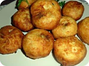 Boulettes de pomme de terre