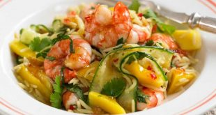 riz aux crevettes recette