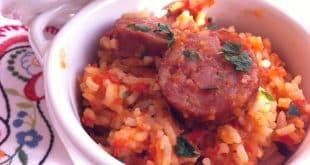 riz aux tomates recette