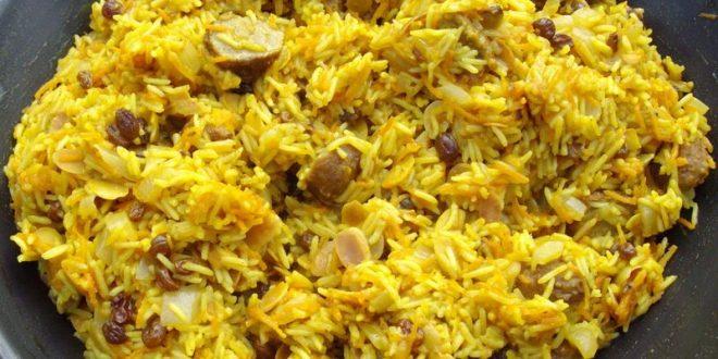 riz curry recette