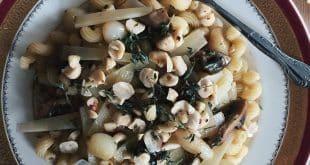 salade de pâtes aux noisettes recette