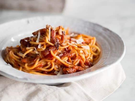 spaghetti all'matriciana
